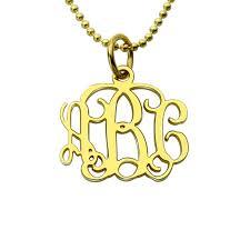 Engraved Monogram Necklace Popular Monogram Personalized Gifts Buy Cheap Monogram