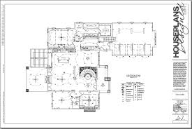 electrical floor plan sample success house plans 42872