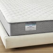 simmons beautysleep karlena firm queen mattress cb2