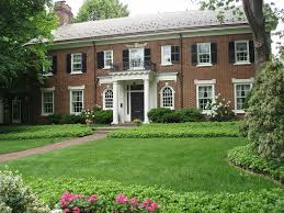 brick colonial revival william s griswold house 2 story side