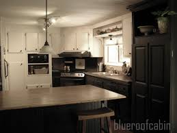 mobile home kitchen remodeling ideas blue roof cabin my sisters kitchen is finished