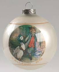 schmid beatrix potter annual ornament at replacements ltd