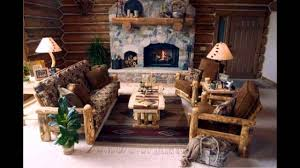 Rustic Home Decorating Ideas Living Room by Fascinating Log Cabin Decor Ideas Youtube
