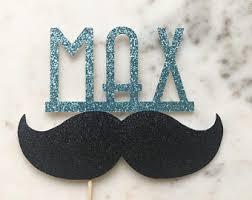 mustache cake topper mustache cake topper etsy