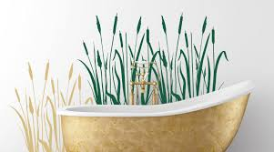 wandtattoos badezimmer wandtattoo fürs bad baddeko mit wandtattoos deko