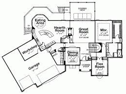 house plans one level eplans european house plan one level plan 2223 square
