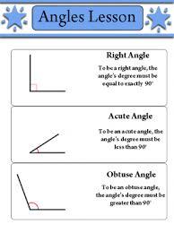 angles lesson worksheet 3rd grade pinterest angles