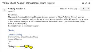 Cover Letter For Disney Internship by Prof Internship At Yellow Shoes Life Is The Bubbles At Disney