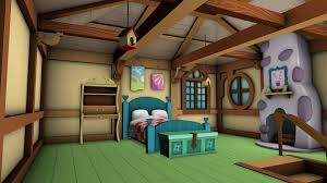 old fluttershy u0027s cottage game models bedroom by discopears on