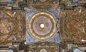 Baroque Ceiling by Palermo April 8 Cupola And Ceiling From Baroque Church Of