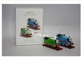 hallmark 2007 thomas and percy thomas the tank engine ornament set