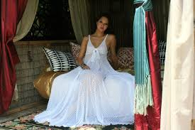 honeymoon nightgowns wedding white lace nightgown tie front sheer