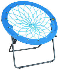 Blue Saucer Chair Furniture Round Target Bungee Chair In Blue And Teal For Home