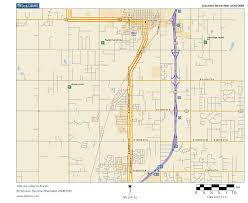Tulsa Map Oklahoma Highways Us Route 75 Tulsa To Caney Ks