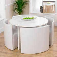 Fuzzy White Chair Dining Room Amazing Round White Table And Chairs Uk Delivery