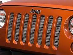 Rugged Ridge Billet Grille Inserts In Black Rugged Ridge Jeep Jk Wrangler Black Grille Insert Rugged Ridge