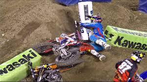 fox sports motocross malcolm stewart wrecks jason anderson anaheim iii 2014 250
