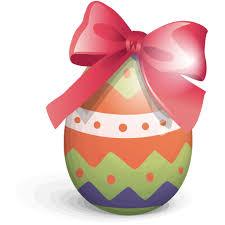 easter ribbon easter egg ribbon icon free icons