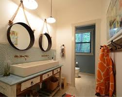 How To Hang Bathroom Mirror Fanciful Hanging Bathroom Mirrors With Frame Astounding A Mirror