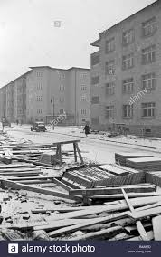 1950s homes geography travel germany berlin buildings housing area 1950s