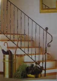 iron railings for indoor stairs wrought iron stair railings