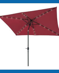 Red Rectangular Patio Umbrella Rectangular Patio Umbrella Teak Nucleus Home