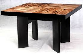 Square Wood Dining Tables Square Wood Dining Table Amusing Decor Reclaimed Wood Dining
