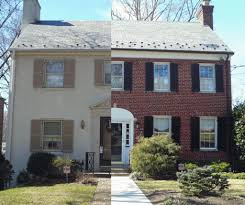 painting exterior brick home 1000 images about painted brick