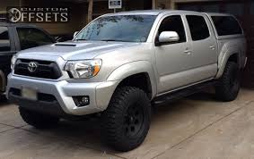 2013 toyota tacoma black rims wheel offset 2013 toyota tacoma slightly aggressive leveling kit