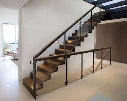 Glass Stairs Design Contemporary Rail Glass Stair Rail How To