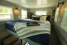 Ski Lodge Interior Design Tiny Mobile Ski Lodge With Open Upper Deck And Balcony