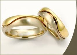two tone wedding rings special wedding rings two tone style