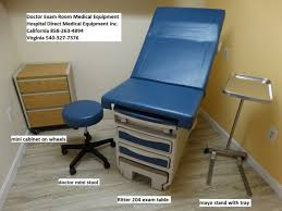 used medical exam tables exam tables examination room tables used refurbished used hospital