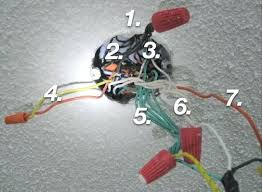 How To Mount A Ceiling Light How To Wire Ceiling Light Restoreyourhealth Club
