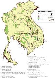 Laos World Map by Review Of Protected Areas U003e Mekong U003e Map Of Protected Areas