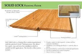 bamboo flooring floating flooring design