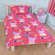 Peppa Pig Bed Set by Peppa Pig Funfair Duvet Set Harry Corry Limited