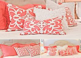 bedding set linen duvet stunning grey and coral bedding dusty