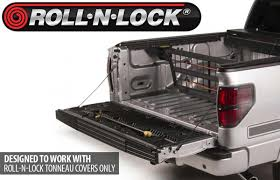 Roll And Lock Bed Cover Cargo Manager Truck Bed Divider By Roll N Lock 4wheelonline Com