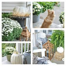 fall front porch kim power style