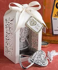 bottle opener favor spectacularly packaged heart bottle opener favor custom wedding