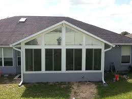 Glass For Sunroom Sunrooms Enclosed Lanai Glass And Acrylic Room Enclosures