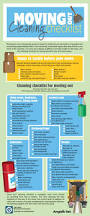 infographic moving out cleaning checklist angie u0027s list