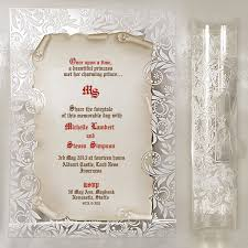 scroll wedding invitations scroll wedding invitations uk scroll manuscript