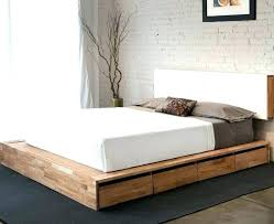 King Size Bed Frame Storage Size Bed Frame With Storage Underneath Out Size Bed