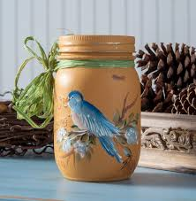 folk art home decor chalk paint donna dewberry paints a mason jar with folkart home decor chalk
