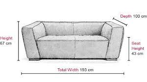 Couch Depth Adante 2 Seater Sofa Vavicci Fine Home Furniture U0026 Accessories