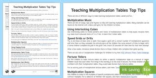 help learning times tables teaching multiplication tables top tips maths times tables