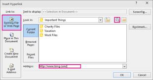add a hyperlink to a slide powerpoint