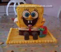 coolest homemade spongebob squarepants cakes